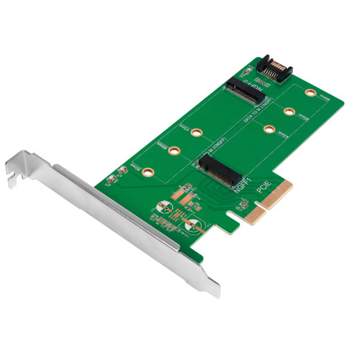 LogiLink PCI-Express -> 2x M.2 SSD + 1x
