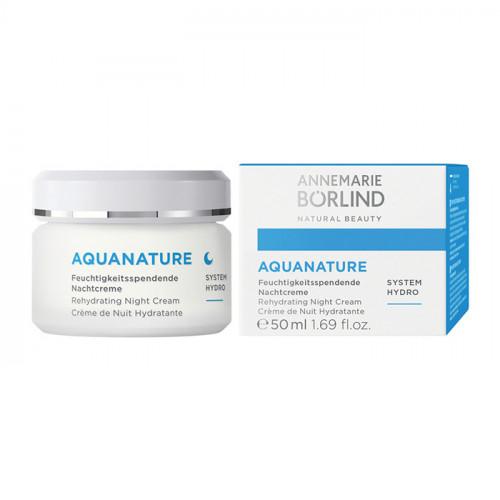 Börlind Aquanature Rehydrating Night Cream 50ml EKO Vegan
