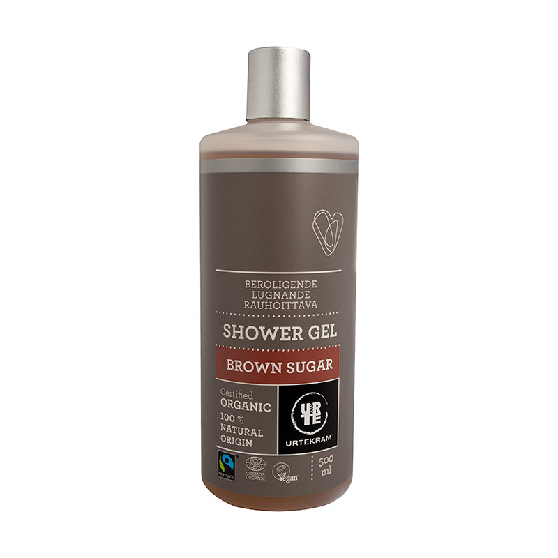 Urtekram Urtekram Brown Sugar Showergel 500ml EKO