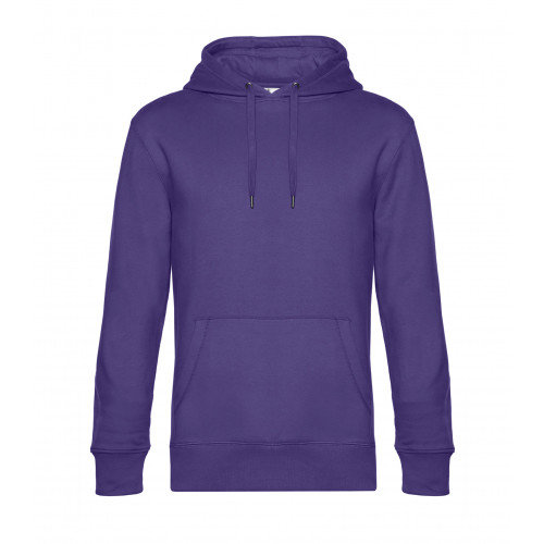 B and C Collection B&C KING Hooded Radiant Purple