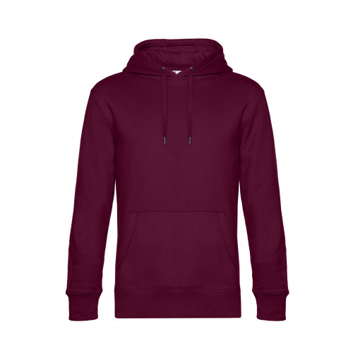 B and C Collection B&C KING Hooded DarkCherry