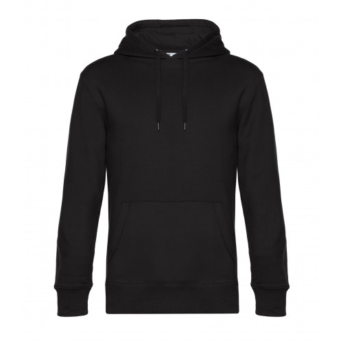 B and C Collection B&C KING Hooded BlackPure