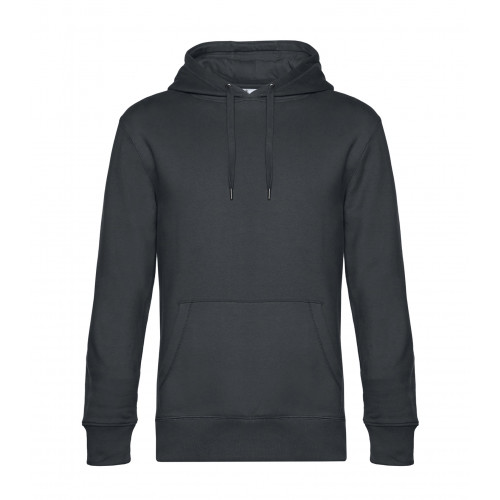B and C Collection B&C KING Hooded Asphalt