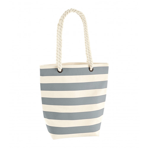 Westford Mill Nautical Tote Natural/Grey