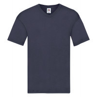 Fruit of the loom T-shirt Valueweight V-neck Navy