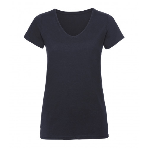 Russell Ladies´ V-Neck HD Tee French Navy