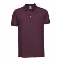Russell Men´s Stretch Polo Burgundy