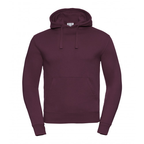 Russell Men´s Authentic Hooded Sweat Burgundy