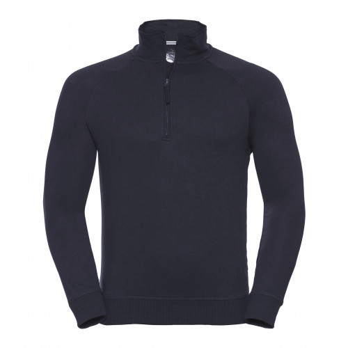 Russell Men´s HD Quarter Zip Sweat French Navy