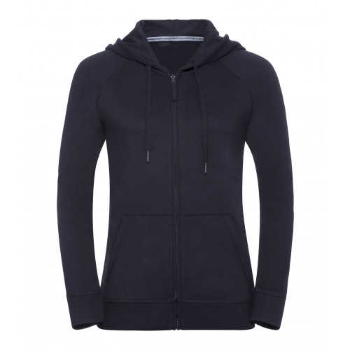 Russell Ladies´ HD Zipped Hood Sweat French Navy