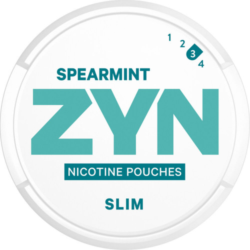 ZYN Slim Spearmint Strong 5-pack