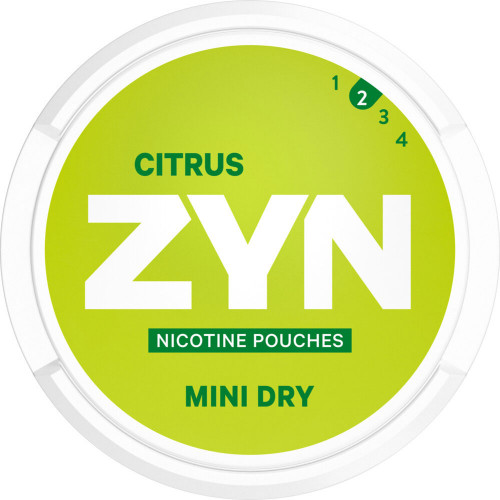 ZYN Mini Dry Citrus 5-pack