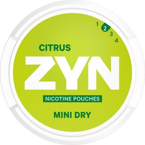ZYN Mini Dry Citrus 10-pack