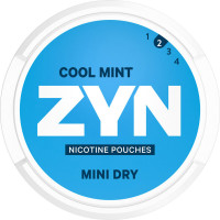 ZYN Mini Dry Cool Mint 5-pack