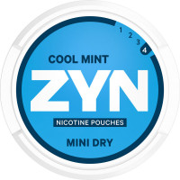 ZYN Mini Dry Cool Mint Extra Strong 5-pack
