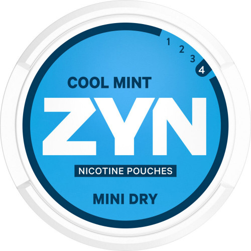 ZYN Mini Dry Cool Mint Extra Strong 10-pack