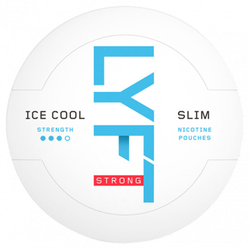 LYFT Ice Cool Mint Strong Slim 10-pack