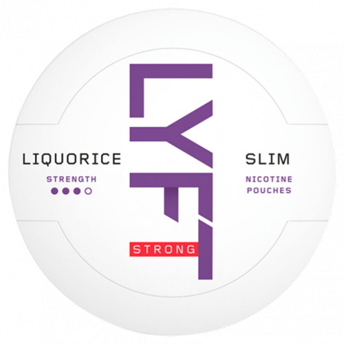 LYFT Liqorice Strong Slim 10-pack