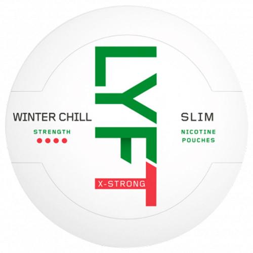 LYFT Winter Chill X-Strong Slim 10-pack