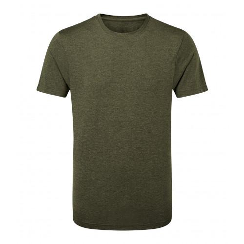 Tri Dri TriDri® performance t-shirt Olive/BlackMelange