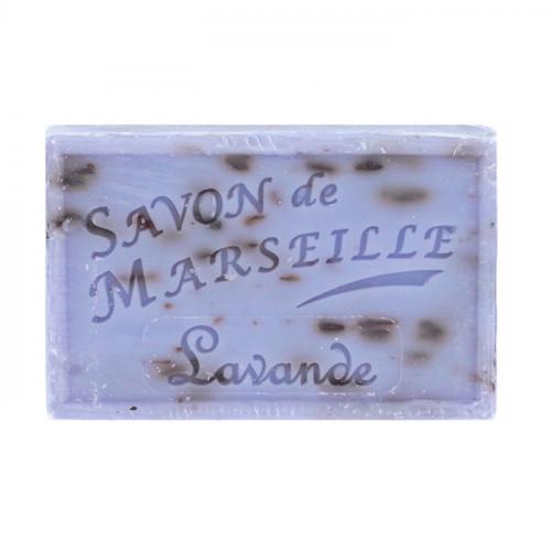 Palmetten Rektangulär tvål - Lavende Fransk naturtvål 125g