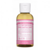 Dr. Bronner's Magic Soaps Rose PureCastile Liquid Soap 59ml EKO