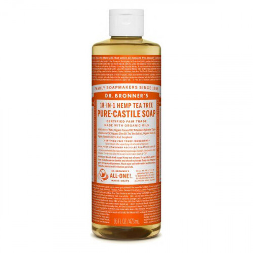 Dr. Bronner's Magic Soaps Tea Tree PureCastile Liquid Soap 473ml EKO