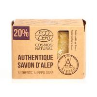 Alepeo Aleppo tvål 20% Lagerbärsolja 200g EKO