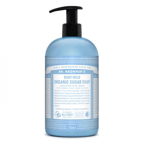 Dr. Bronner's Magic Soaps Baby-Mild Organic Sugar Soap 710 ml