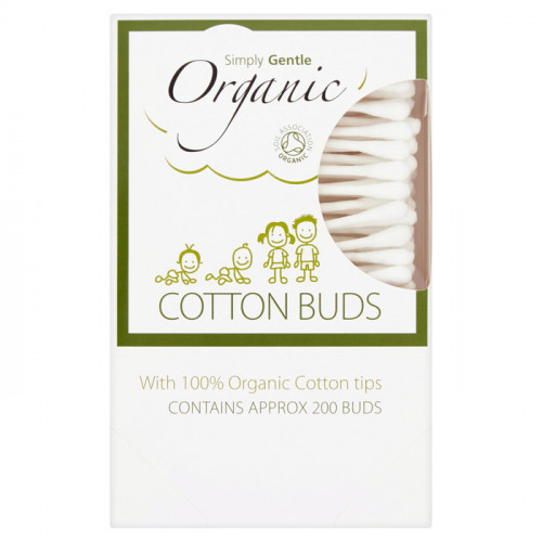 Simply Gentle Organic Paper Stem Buds 200 buds