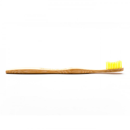 The Humble Co Toothbrush Adult Yellow - Medium 1p