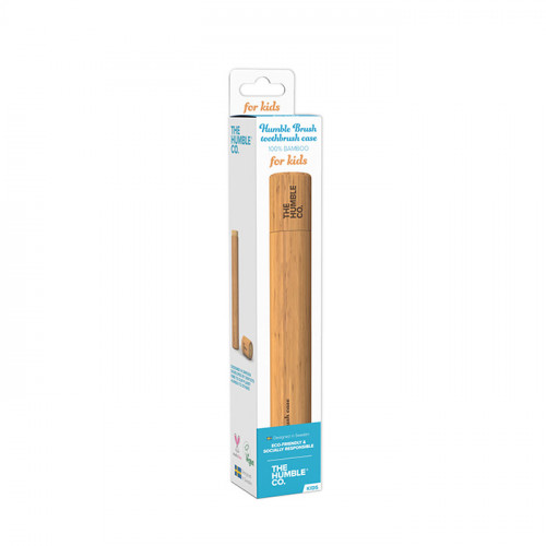 The Humble Co Bamboo Toothbrush Case - Kids 1st