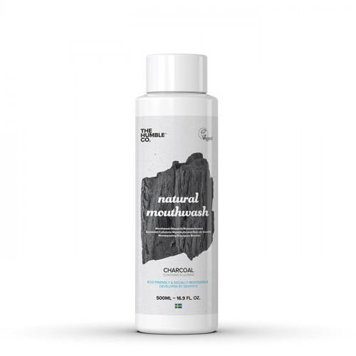 The Humble Co Humble Natural Mouthwash Charcoal 500 ml