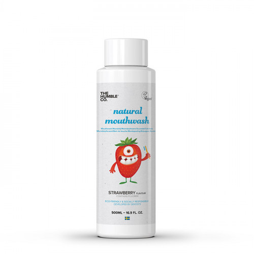 The Humble Co Humble Natural Mouthwash - Kids Strawberry 500ml