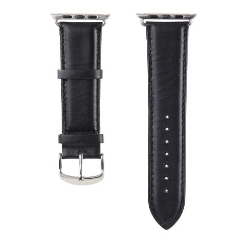 HAMA Klockarmband Apple Watch Svart Classic, 38mm