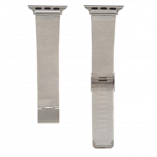 HAMA Klockarmband Apple Watch Silver Milanaise, 38mm