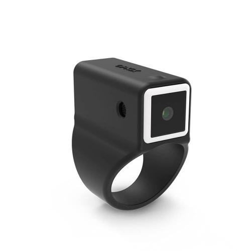 OPKIX Ring Medium 7.5mm Svart