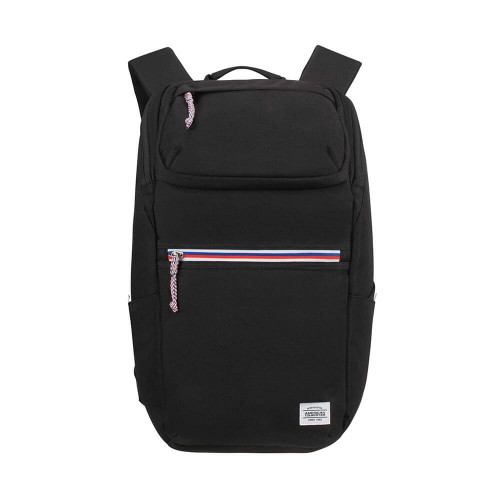"AT AMERICAN TOURISTER Ryggsäck UPBEAT 15.6"" Datafack ZIP-Pocket BLACK"