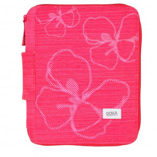 GOLLA Sleeve Inez iPad pink stand cut for iPad 1+2