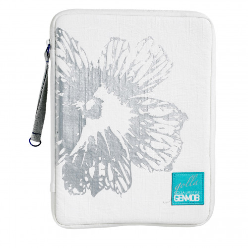 GOLLA Zip Folder SNOWY vit TABLET style 10.1tum,G1324