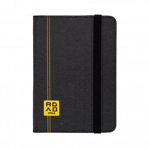 GOLLA ROAD Tablet Booklet Cason 7tum Svart G1610