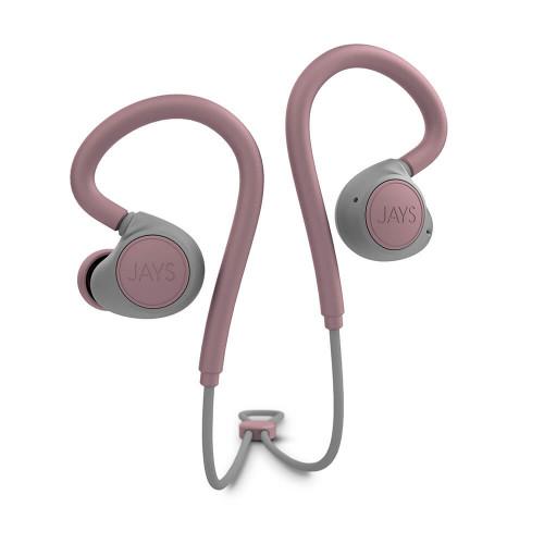 JAYS Hörlur m-Six  Trådlös In-Ear Earhook Dusty/Rose
