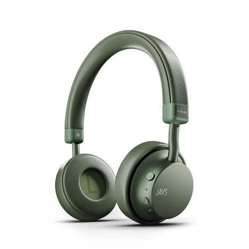 JAYS Hörlur a-Seven Trådlös On-Ear Grön