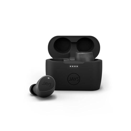 JAYS Hörlur m-Seven TWS True Wireless In-Ear Svart