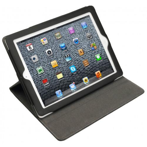 GEAR Tabletfodral Svart 360 Samsung Tab3 10,1tum Magnetlås