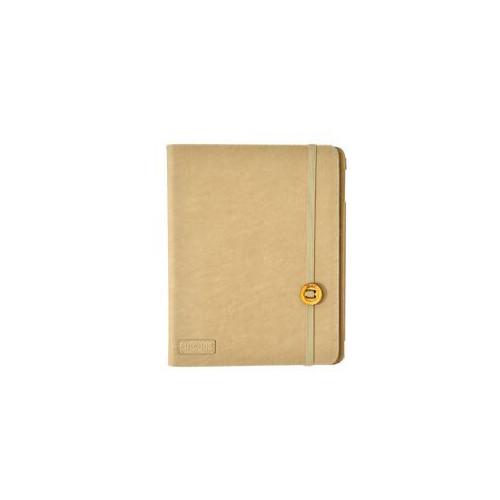"""SNUGGS Tablet Booklet Univer. 8"""" Beige Mocca Ull på insidan"""