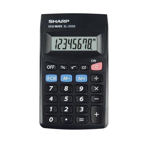 SHARP Kalkylator EL233SBBK