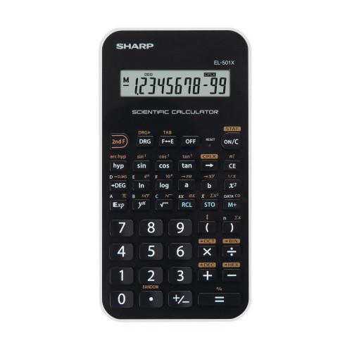 SHARP Kalkylator EL501XBWH