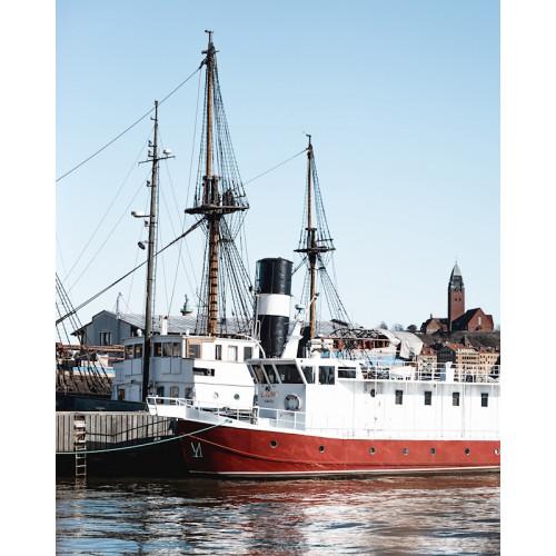 Poster Gothenburg harbor