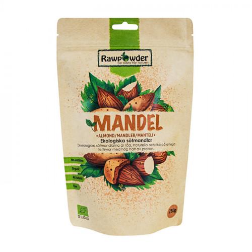 Rawpowder Mandel 250g EKO